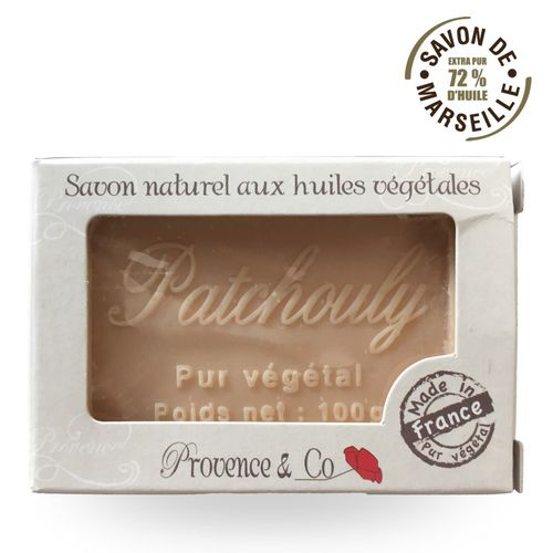 Marseille Seife Provence Co PATCHOULI - 100gr