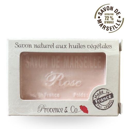 Marseille Seife ROSE Provence et Co - 100gr