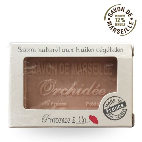Marseille Seife Provence et Co ORCHIDEE - 100gr