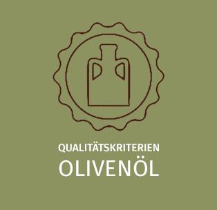 Qualitätskriterien Olivenöl